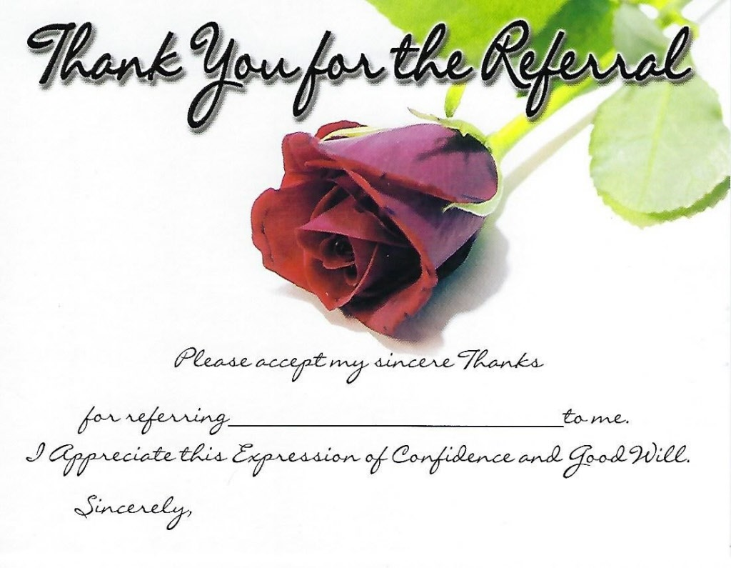 Referral Thank You Card 00rytc